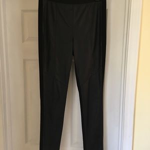 Bcbg Max Azria vegan leggings medium black